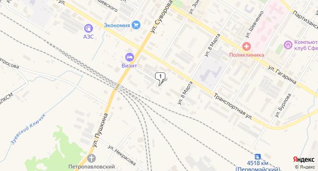 Купить коммерческую недвижимость 127 м<sup>2</sup> в Тайшете по адресу Россия, Иркутская область, Тайшет, Северовокзальная улица, 36