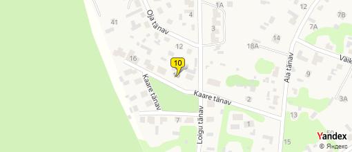Yandex Map of Jaanus Jesmin Takso Autorent Taxi Service Hiiumaa