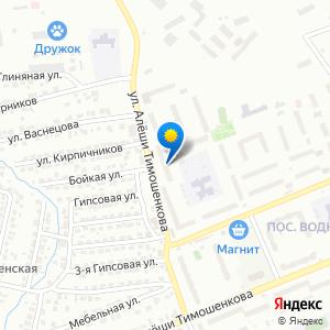 Схема проезда: Поликлиника №4 (Городская больница №3), расположенный по адресу «Красноярск, улица Алеши Тимошенкова, 185»