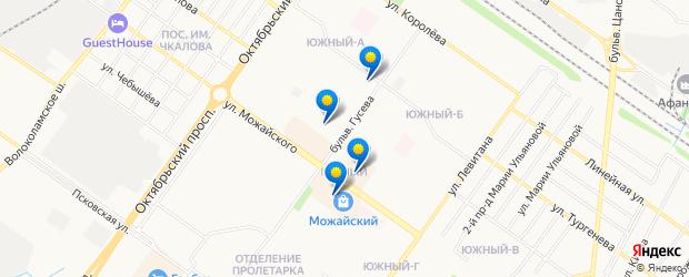 Найдено 4 парикмахерские рядом с адресом «бульвар Гусева, Тверь» на карте