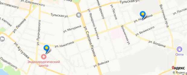 Найдено 2 детские поликлиники рядом с адресом «улица Никитина, Калуга» на карте