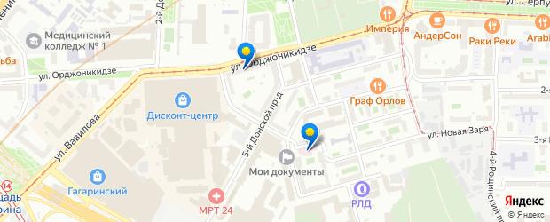 Гинекологи — Верхний Михайловский Поперечный проезд, Москва ...
