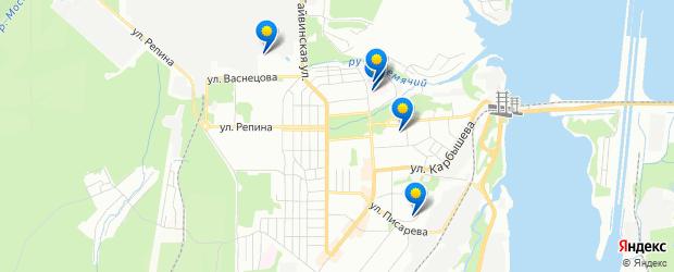 Диагностика — 5 организаций — Гайва, Пермский на карте