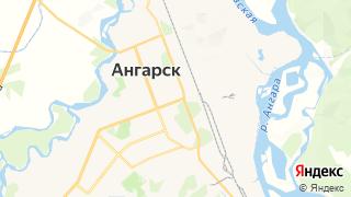 Карта автосервисов Ангарска