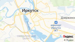 Карта автосервисов Иркутска