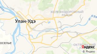Карта автосервисов Улан-удэ