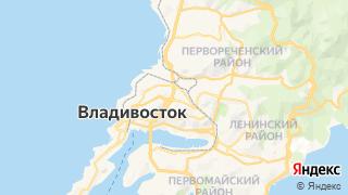 Карта автосервисов Владивостока