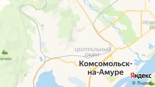 Карта автосервисов Комсомольска-на-Амуре
