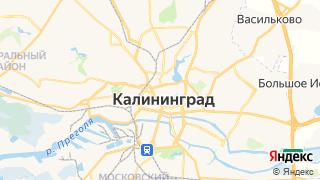 Карта автосервисов Калининграда