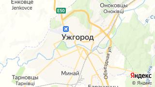 Карта автосервисов Ужгорода