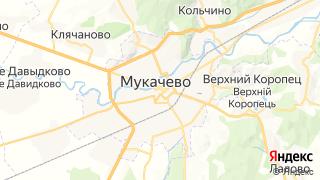 Карта автосервисов Мукачево