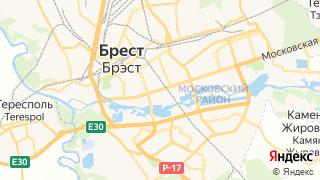 Карта автосервисов Бреста