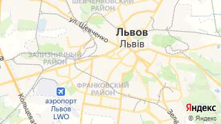 Карта автосервисов Львова