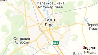 Карта автосервисов Лиды