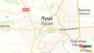 Карта автосервисов Луцка