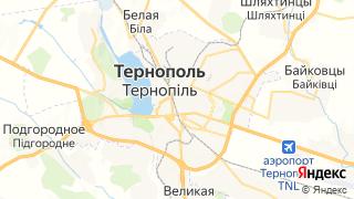 Карта автосервисов Тернополя