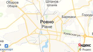 Карта автосервисов Ровно