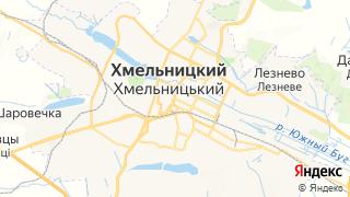 Карта автосервисов Хмельницкого