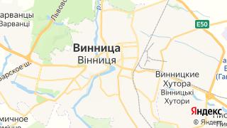 Карта автосервисов Винницы