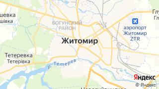 Карта автосервисов Житомира