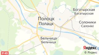 Карта автосервисов Полоцка