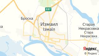 Карта автосервисов Измаила