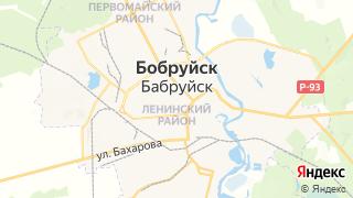 Карта автосервисов Бобруйска