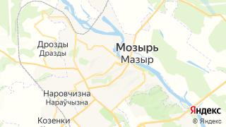 Карта автосервисов Мозыря