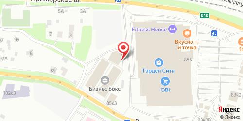 Fast Food Макдоналдс / McDonalds, Санкт-Петербург, Лахтинский пр., 85 (ТЦ Гарден-Сити)