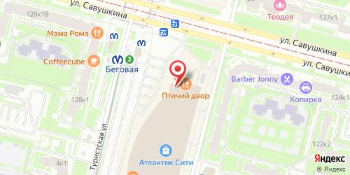 Ресторан Апрель в Санкт-Петербурге, Санкт-Петербург, ул. Савушкина, д.126, ТК Атлантик Сити, 2 этаж