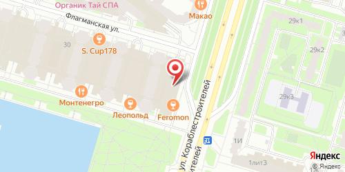 Ресторан Небеса, Санкт-Петербург, ул. Кораблестроителей, д. 30