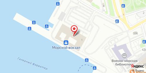 Кафе Уэлис, Санкт-Петербург, Морской Славы пл., 1 (здание Морского вокзала)