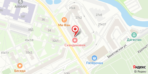 Бергамот, Санкт-Петербург, Беринга ул., 27