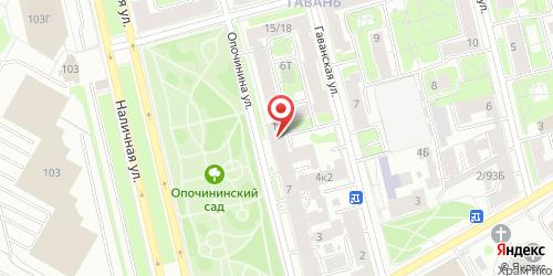 Кафе-бар На Опочинина, Санкт-Петербург, Опочинина ул., 11