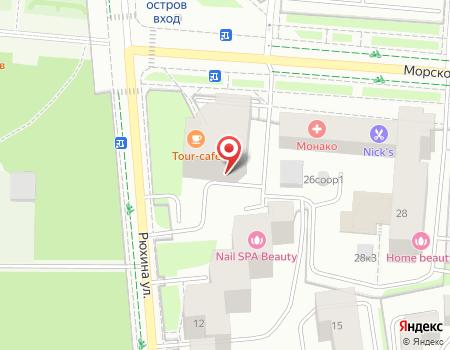 Схема расположения офиса турагентства «Сонриса Тур»