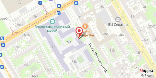 Кафе Лазурит, Санкт-Петербург, 19-я линия В.О., 24