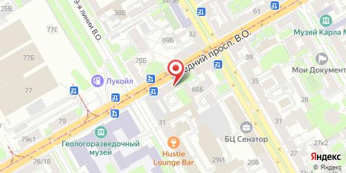 Кафе Виктория, Санкт-Петербург, Средний пр. В.О., 70