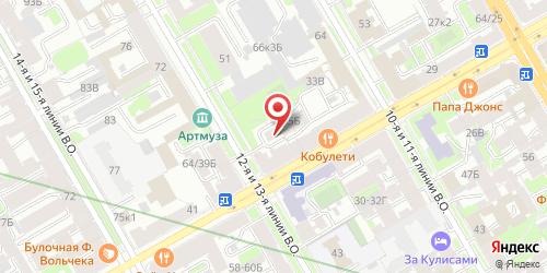 Кафе Пирогоф, Санкт-Петербург, Малый пр. В.О., 37