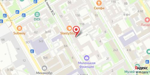 Блинная Первый блин, Санкт-Петербург, 20-я линия В.О., 9