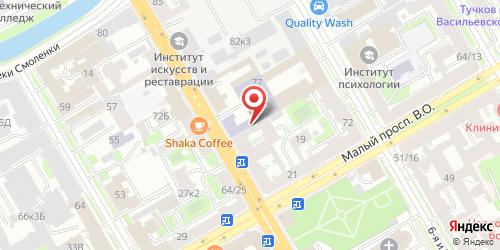 Кафе 77, Санкт-Петербург, 8-я линия В.О., 77
