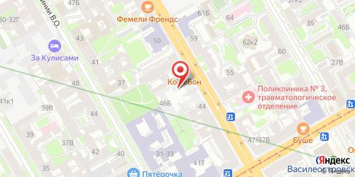 Пивной ресторан Альма Матер, Санкт-Петербург, 9-я линия В.О., 46