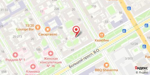 Кафе Силена-Маркет, Санкт-Петербург, Большой пр. В.О., 41