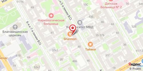 Паб Shannon / Шэннон, Санкт-Петербург, 5-я линия В.О., 54