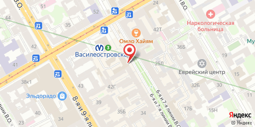Бар Пена, Санкт-Петербург, 7-я линия В.О., 44