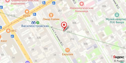 Кафе Петра, Санкт-Петербург, 6-я линия В.О., 25