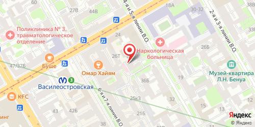 Кафе Ротонда, Санкт-Петербург, 5-я линия В.О., 42