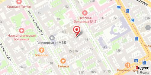 Кафе Хаба-хаба, Санкт-Петербург, 3-я линия В.О., 46