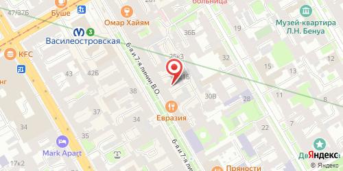 Кофейня Чайкофф, Санкт-Петербург, 6-я линия В.О., 21