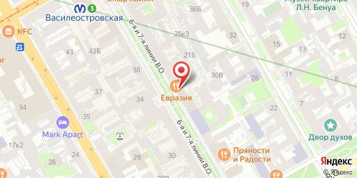 Бистро Весна, Санкт-Петербург, 6-я линия В.О., 19