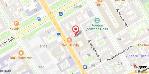 Кафе-бар У таможни, Санкт-Петербург, 8-я линия В.О., 15